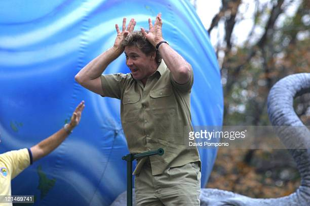 Steve Irwin during The 78th Annual Macy's Thanksgiving Day Parade at Manhattan in New York City, New York, United States.