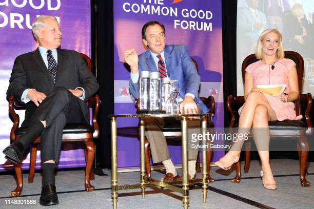 Steve Israel Rick Tyler and Margaret Hoover speak onstage at The Common Good Forum American Spirit Awards 2019 at The Roosevelt Hotel on May 10 2019...