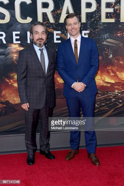 Steve Jablonsky and Rawson Marshall Thurber attends the 'Skyscraper' New York Premiere at AMC Loews Lincoln Square on July 10 2018 in New York City