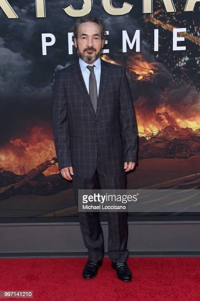 Steve Jablonsky attends the 'Skyscraper' New York Premiere at AMC Loews Lincoln Square on July 10 2018 in New York City
