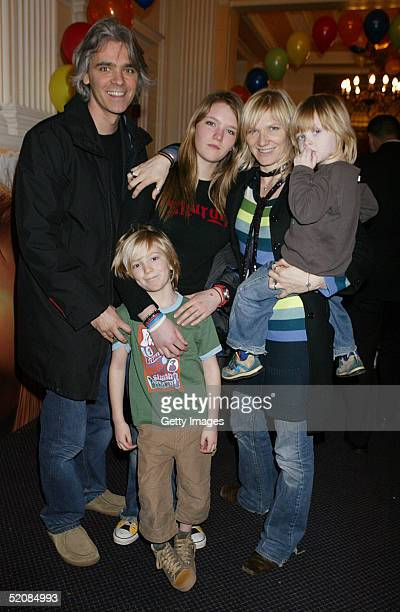 Steve Jack India Jo and Cas Whiley attend the aftershow party following The Magic Roundabout UK Charity Premiere at the New Connaught Rooms on...