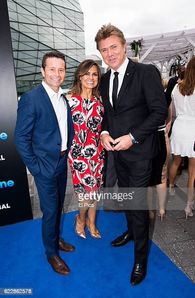 Steve Jacobs Lisa Wilkinson and Richard Wilkins poses during the Channel Nine Up fronts at The Star on November 8 2016 in Sydney Australia
