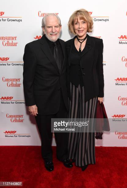 Steve Jaffe and Susan Blakely attend AARP The Magazine's 18th Annual Movies for Grownups Awards at the Beverly Wilshire Four Seasons Hotel on...
