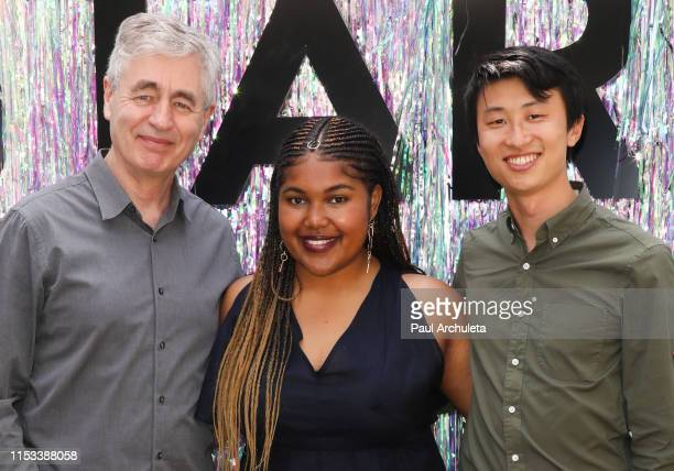 Steve James Jada Buford and Bing Liu attend the Starz FYC Day at The Atrium at Westfield Century City on June 02 2019 in Los Angeles California