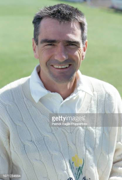 Steve James of Glamorgan before the Benson and Hedges Cup Semi Final between Glamorgan and Surrey at Sophia Gardens Cardiff 27th May 2000