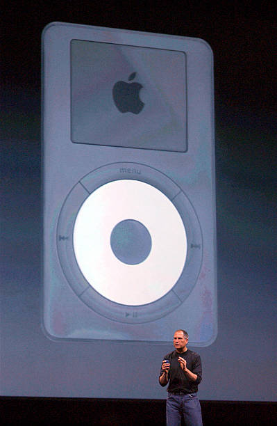 UNS: 23rd October 2001 - Apple Launches The Ipod