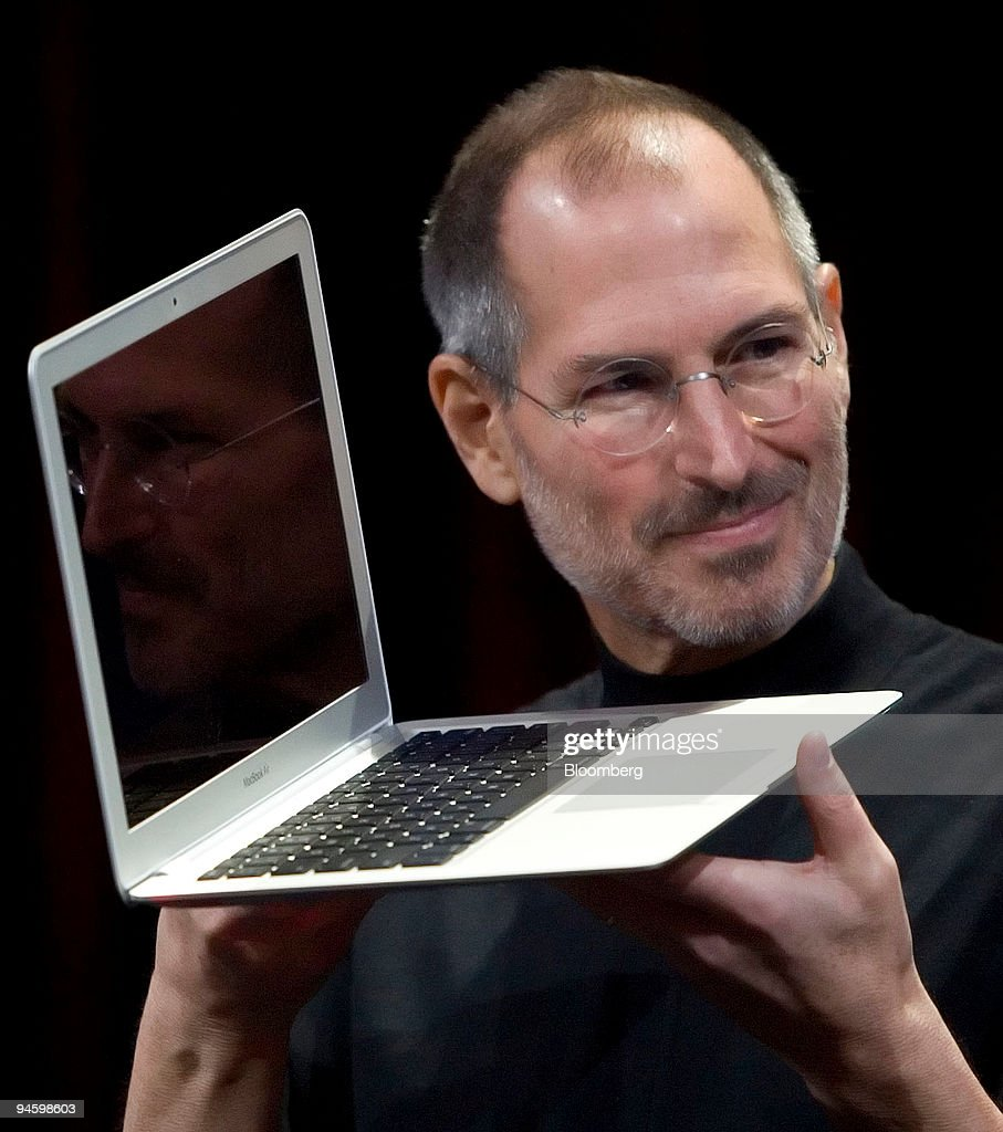 Steve Jobs, chief executive officer and co-founder of Apple : ニュース写真