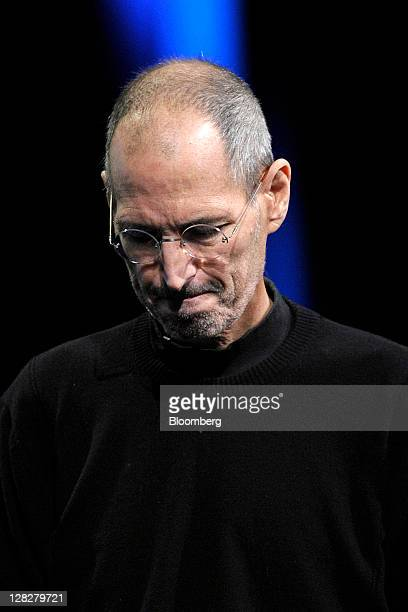 Steve Jobs chief executive officer and cofounder of Apple Inc unveils the iCloud storage system at the Apple Worldwide Developers Conference 2011 in...