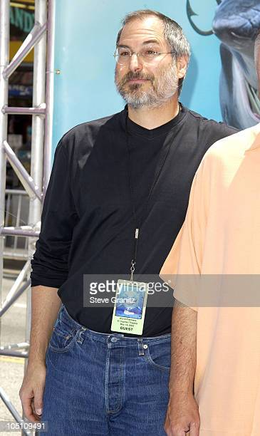 Steve Jobs during 'Finding Nemo' Los Angeles Premiere at El Capitan Theater in Los Angeles California United States