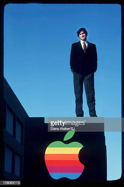 Steve Jobs for Time Life in Cupertino United States