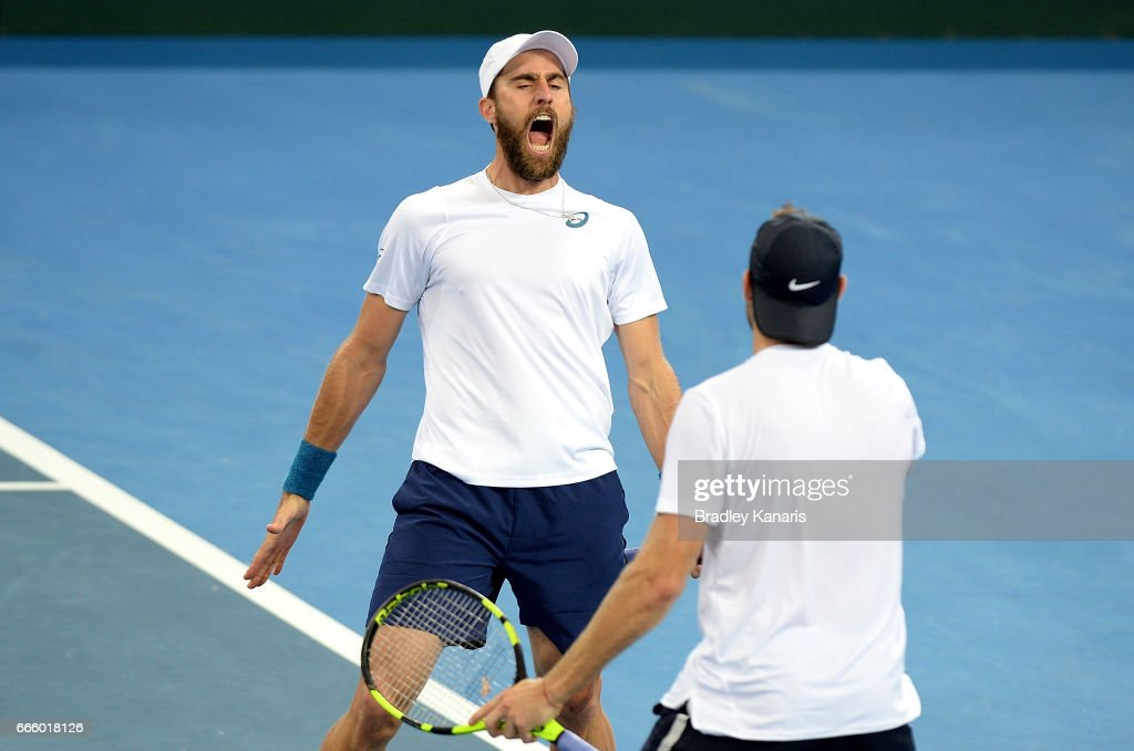 Australia v USA - Davis Cup World Group Quarterfinals