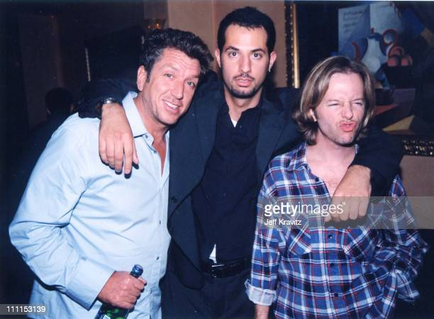 Steve Jones Guy Oseary David Spade during Guy Oseary's Birthday Party in Los Angeles California United States