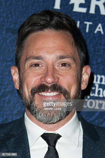 Steve Kazee arrives at the Opening Night of 'Merrily We Roll Along' at the Wallis Annenberg Center for the Performing Arts on November 30 2016 in...