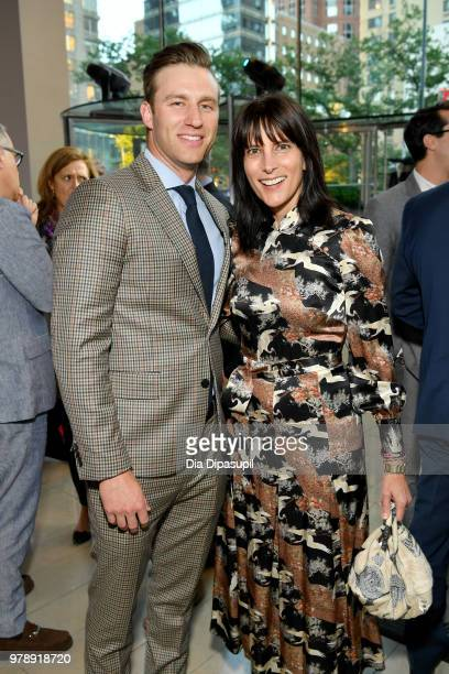 Steve Kohan and Blair Kohan attend Lincoln Center Corporate Fund's Stand Up Sing for the Arts at Alice Tully Hall on June 19 2018 in New York City