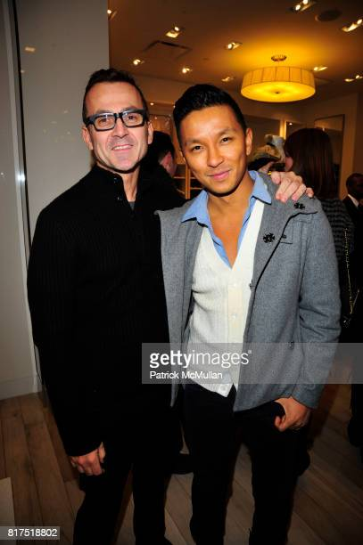 Steve Kolb and Prabal Gurung attend Ann Taylor Flatiron Store Opening at Ann Taylor NYC on December 2 2010 in New York City
