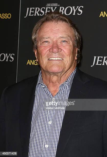 Steve Kroft attends a special New York screening reception for 'Jersey Boys' hosted by Angelo Galasso at Angelo Galasso on June 2014 in New York City