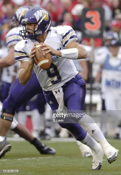 Steve LaFalce during the game between the Wisconsin Badgers and the Western Illinois Leathernecks at Camp Randall Stadium in Madison, Wisconsin on...