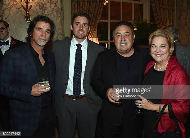 Steve Lassiter and Chris Looney APA Honoree Doc McGhee and BeBe Evans CDB attend the 2016 NATD Honors Gala at Hermitage Hotel on November 9 2016 in...