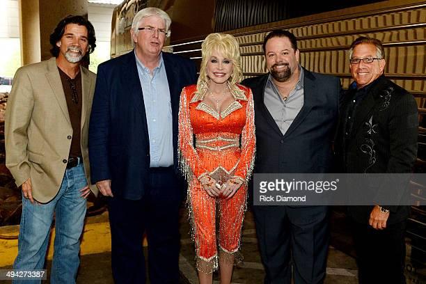 Steve Lassiter APA Nashville SR VP Steve Martin APA Executive VP of Worldwide Music Dolly Parton Danny Nozel CTK Management Steve Hauser APA...
