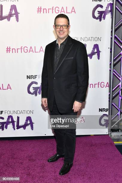 Steve Laughlin attends the 2018 National Retail Federation Gala at Pier 60 on January 14 2018 in New York City