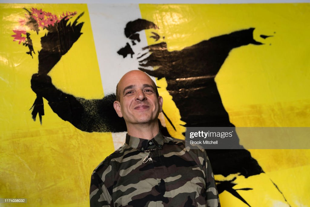 The Art of Banksy Media Preview : News Photo