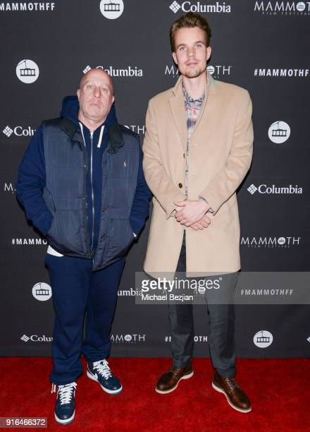 Steve Lobel and Thomas Deelder arrive at Unsolved The Murders Of Tupac and The Notorious BIG at Inaugural Mammoth Film Festival Day 2 on February 9...