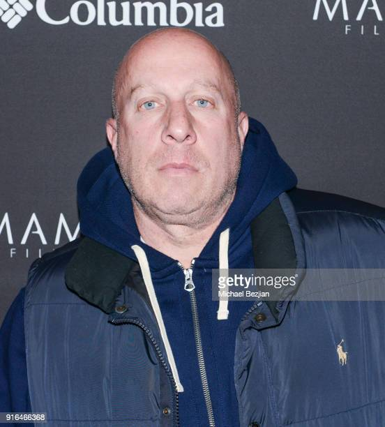 Steve Lobel arrives at Unsolved The Murders Of Tupac and The Notorious BIG at Inaugural Mammoth Film Festival Day 2 on February 9 2018 in Mammoth...