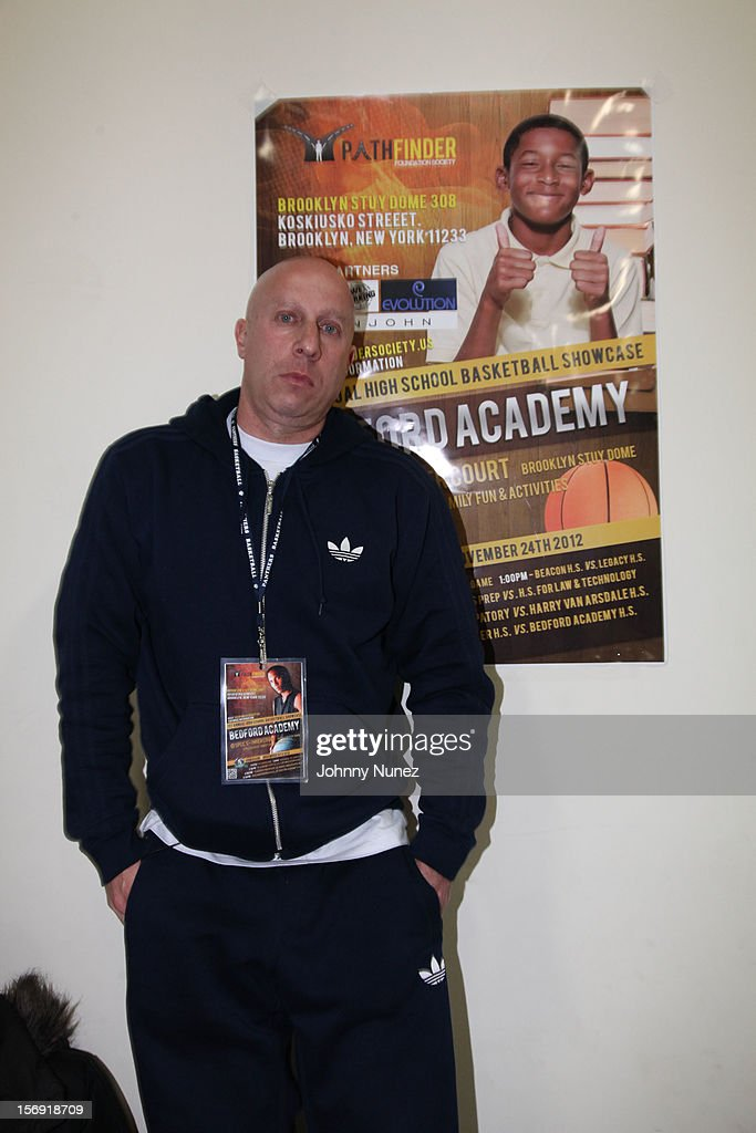 Steve Lobel attends the 2012 High School Basketball Showcase at Bedford Academy on November 24, 2012 in the Brooklyn borough of New York City.