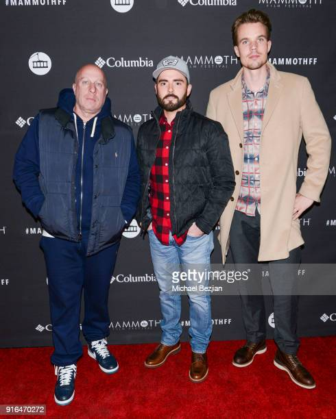 Steve Lobel Tim Newfang and Thomas Deelder arrive at Unsolved The Murders Of Tupac and The Notorious BIG at Inaugural Mammoth Film Festival Day 2 on...