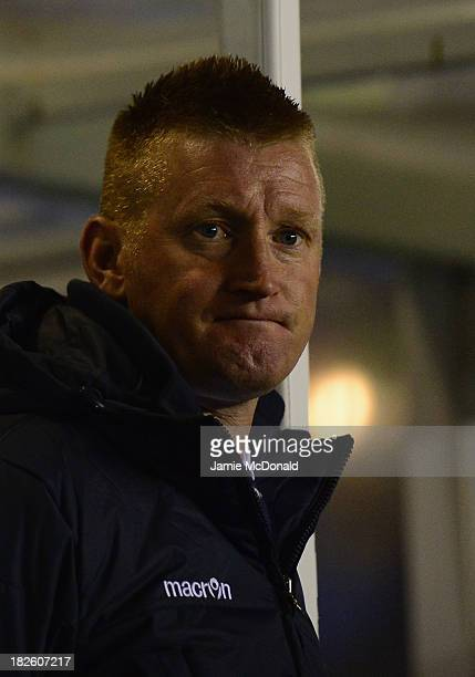 Steve Lomas of Millwall looks on during the Sky Bet Championship match between Birmingham City and Millwall at St Andrews Stadium on October 01 2013...