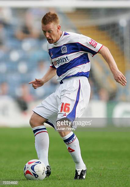 Steve Lomas of Queens Park Rangers in action during the CocaCola Championship match between Queens Park Rangers and Norwich City at Loftus Road on...