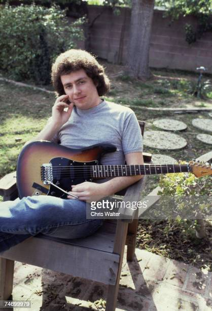 Steve Lukather 1983 during Toto File Photos in Los Angeles