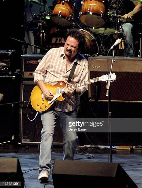 Steve Lukather during Les Paul and Friends in Concert at the Gibson Amphitheatre at Universal City Walk February 7 2006 at Gibson Amphitheatre at...