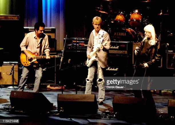 Steve Lukather Kenny Wayne Shepherd and Edgar Winter
