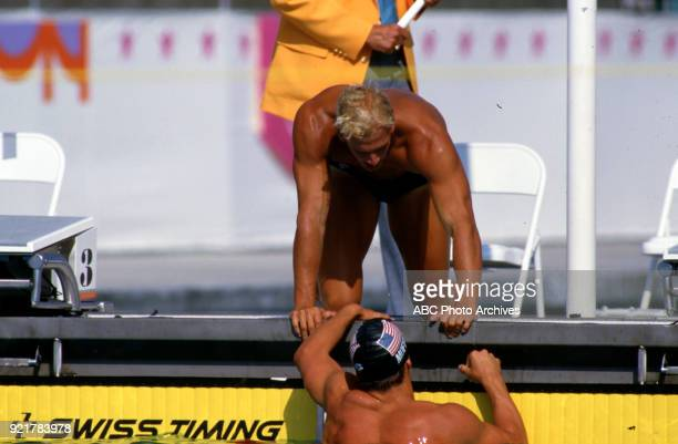 Swimmer Steve Lundquist Stock Photos and Pictures   Getty ...