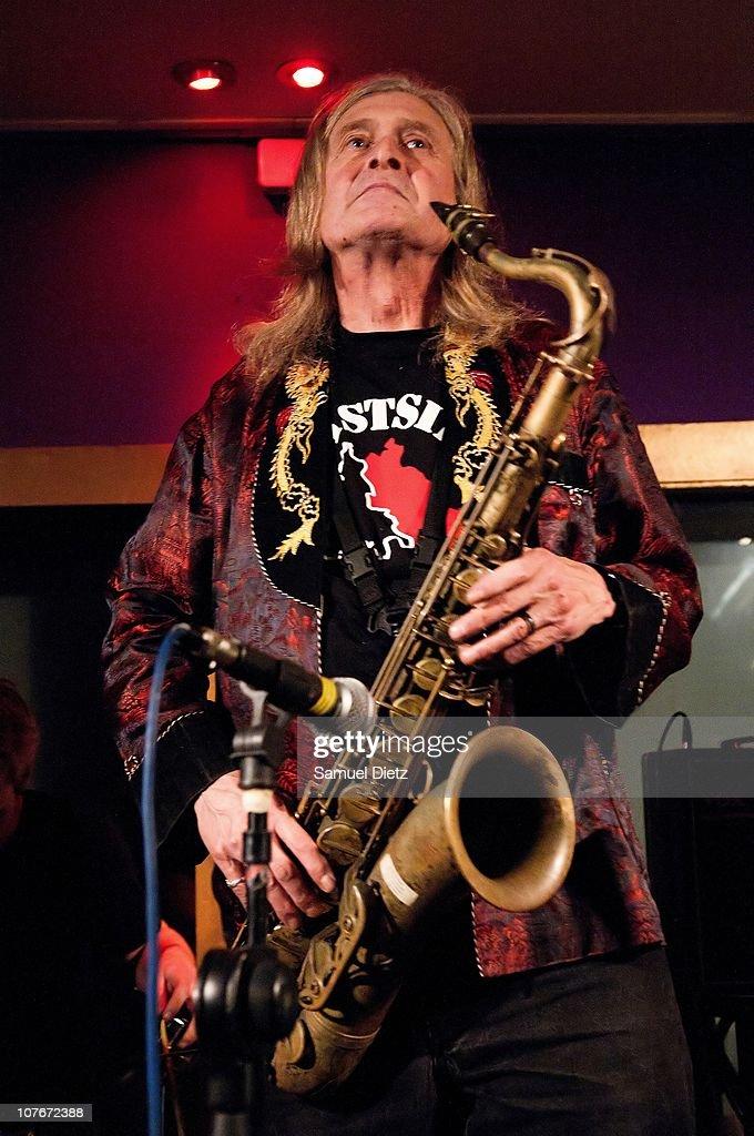 Steve Mackay performs at La Machine du Moulin Rouge on December 17, 2010 in Paris, France.