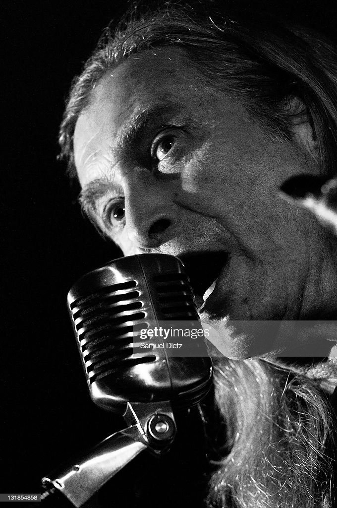 Image has been converted to black and white.) Steve MacKay performs at La Machine du Moulin Rouge on December 17, 2010 in Paris, France.