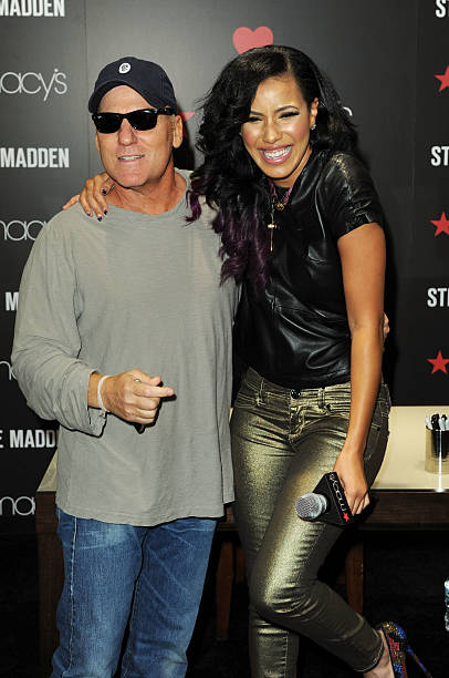 6d689d84c03 Steve Madden and Julissa Bermudez visit Macy s Herald Square to celebrate  the world s largest shoe floor