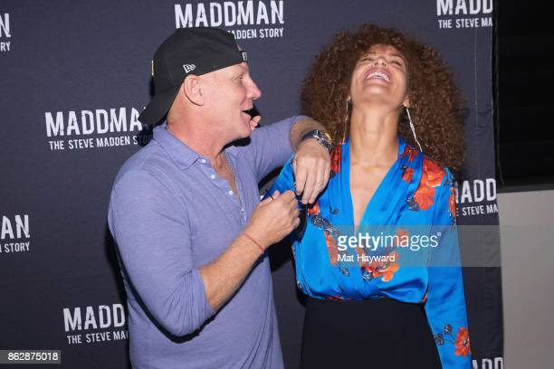 Steve Madden and Tiffany Luce Chancellor attend the Seattle Premiere of the documentary MADDMAN The Steve Madden Story on October 17 2017 in Redmond...