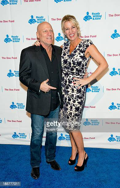 d283f16827b Steve Madden and Wendy Madden attend the 2013 Doe Fund gala at Cipriani  42nd Street on