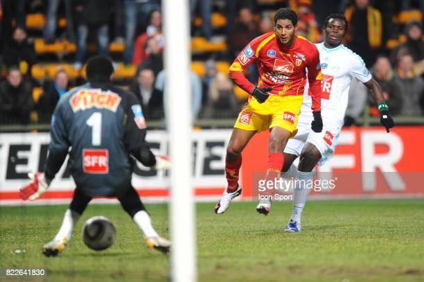 Steve MANDANDA / Issam JEMAA Lens / Marseille 16eme Finale Coupe de France 2009/2010