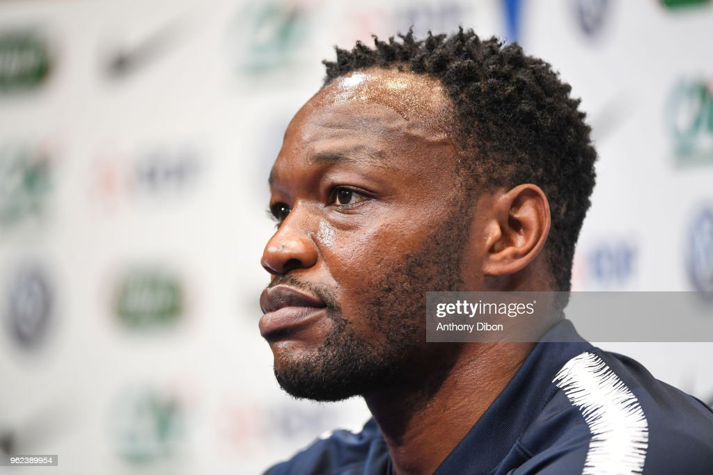 France Soccer Team - Training and press conference