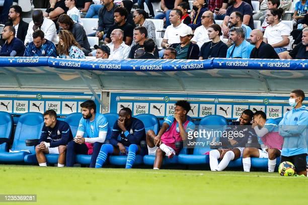 Steve MANDANDA of Marseille during the Ligue 1 Uber Eats match between Marseille and Rennes at Orange Velodrome on September 19, 2021 in Marseille,...