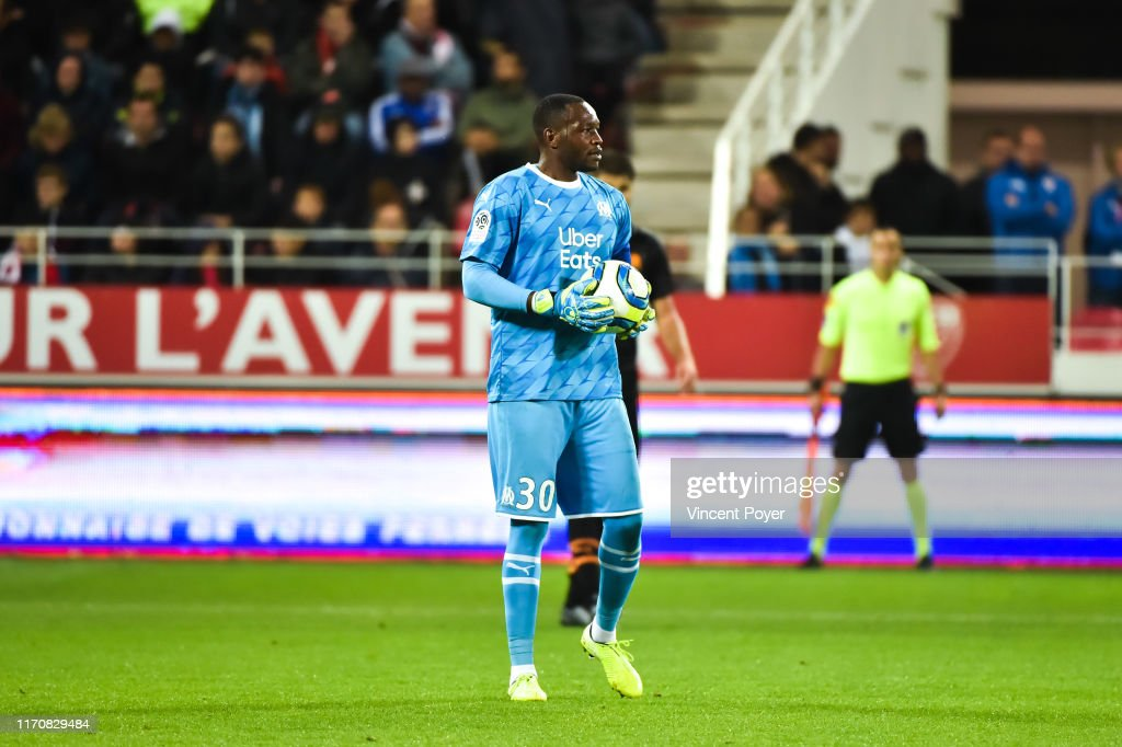 Steve Mandanda Of Om During The Ligue 1 Match Between Dijon And News Photo Getty Images