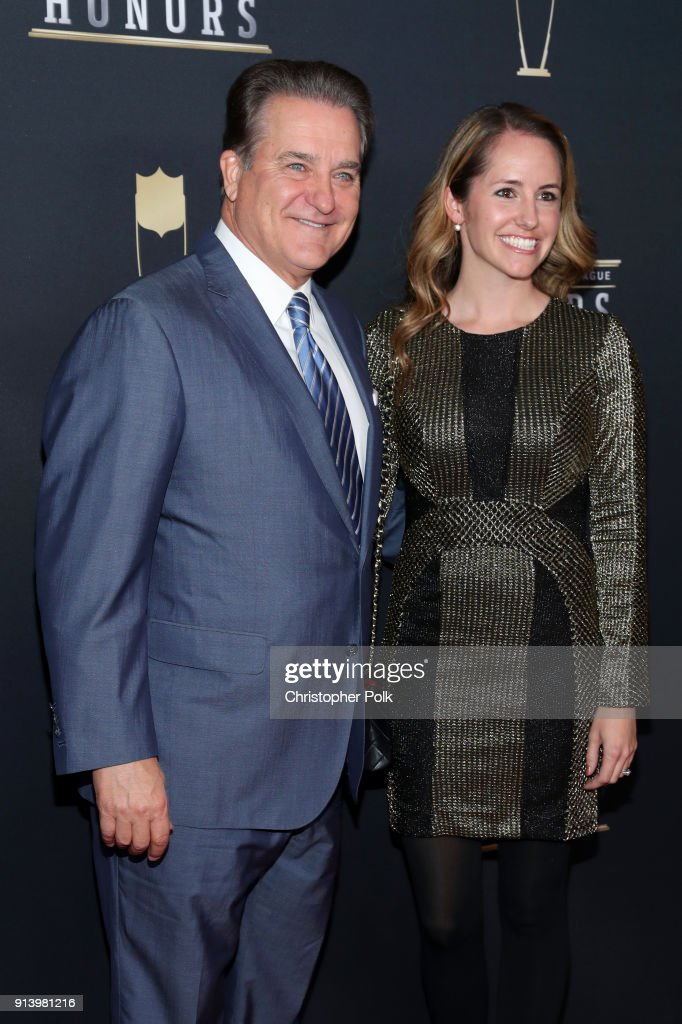 Steve Mariucci and Gayle Wood attend the NFL Honors at University of Minnesota on February 3, 2018 in Minneapolis, Minnesota.
