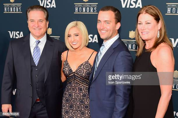 Steve Mariucci on the Red Carpet during the NFL Honors Red Carpet on February 4 2017 at the Worthan Theater Center Houston Texas