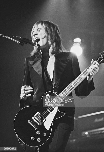 Steve Marriott from English rock band Humble Pie performs live in concert 29th October 1972
