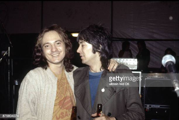 Steve Marriott mit Ian McLagan , Small Faces, rock band, UK - on stage in Berlin, Waldbuehne