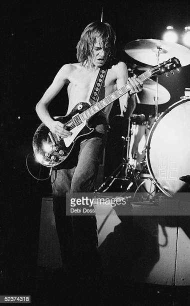 Steve Marriott of Humble Pie on stage at the Coliseum London 1972