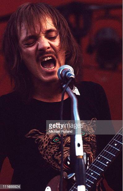 Steve Marriott of Humble Pie performs on stage at Great Western Festival Lincoln 29th May 1972